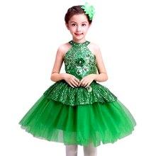 salsa dancing dress of girls dance costumes sequins modern dance clothes dance girl dress dancewear kids