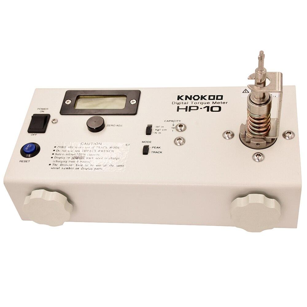 KNOKOO ancienne version HP-10 tournevis numérique compteur de couple grand affichage interrupteur à membrane argenté détail paquet meilleur prix