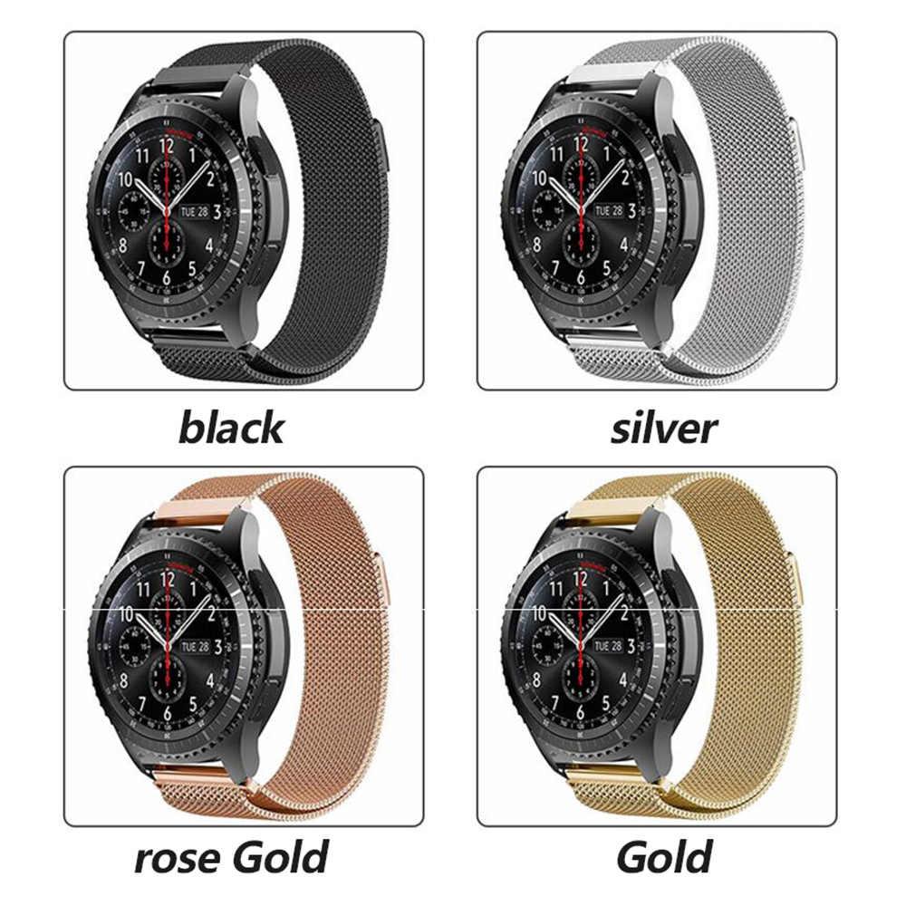 22mm 20mm para Samsung Gear deporte S2 S3 frontera Banda Clásica huami amazfit Correa bip huawei GT 2 galaxy watch activa 42 46mm