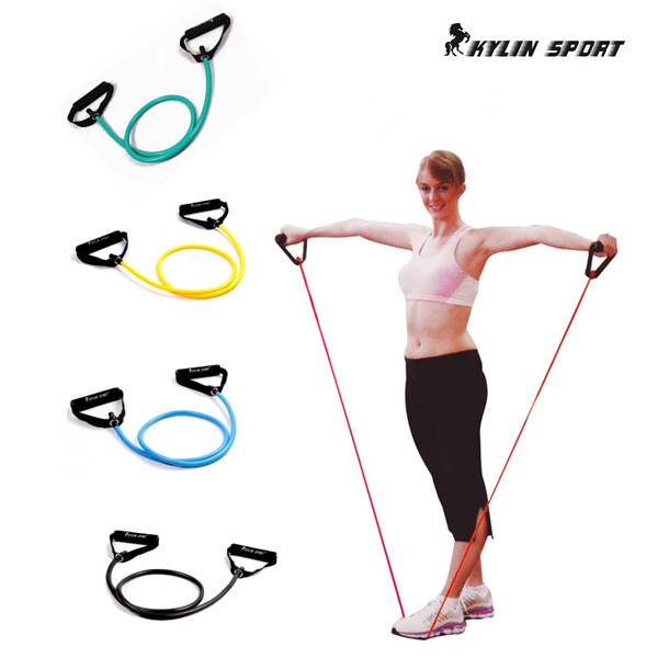 Pull Rope Elastic Rope Crossfit Set Multifunktionell Träningsutrustning Rubber Band Belt Gym Utrustning