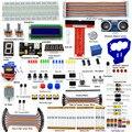 Adeept Novo Elétrica DIY kit Raspberry Pi 3 Ultrasonic Distância Sensor para Raspberry Pi 3 Modelo 2 B B + Freeshipping Livro diykit