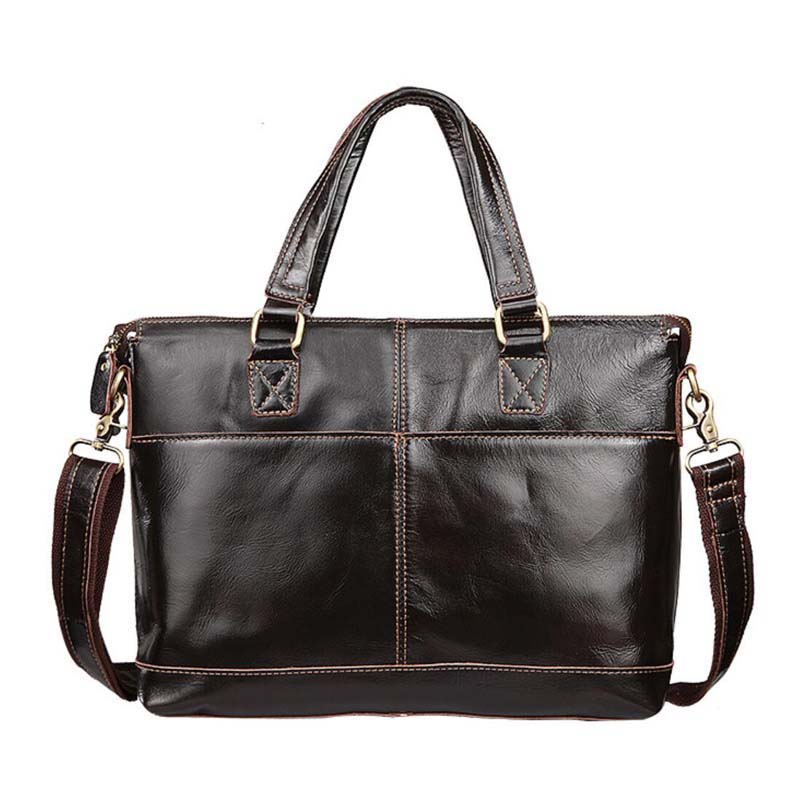 Genuine Leather Bag Fashion Handbags Cowhide Men Crossbody Bags Men's Travel Bag Tote Ipad Briefcases Men Bags NB025 yishen genuine leather bag men bag cowhide men crossbody bags men s travel shoulder bags tote laptop briefcases handbags bfl 048