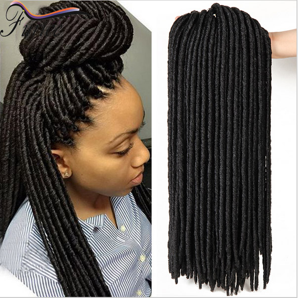New Style Synthetic Hair Extensions 1418 Soft Dread Lock
