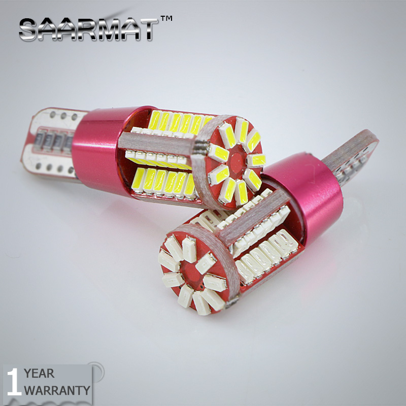 2XPlug &Play T10 W5W LED Front Parking Light  Side Lamp Bulb  For Mitsubishi Asx Lioncel Lancer EX Outlander Pajero 1pcs t10 6smd error free front side maker light parking light lamp bulb for audi a2 8l 8p a4 a6 4b 4f a8 d2 tt q3 q5 c5 c6 c7 s4