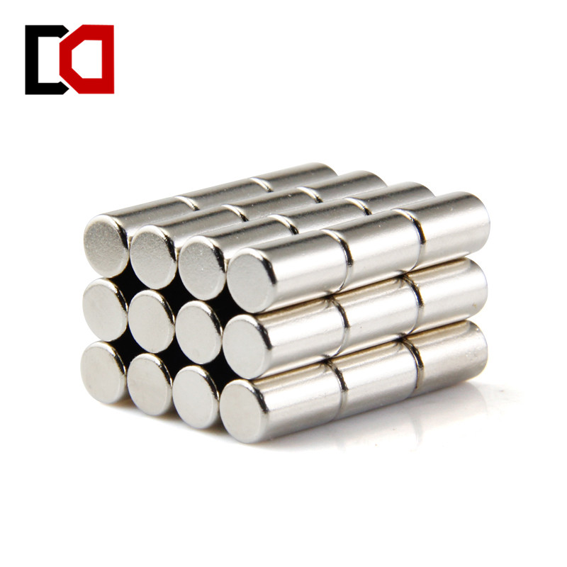 Free shipping 20pcs neodymium magnet cylinder 6x10mm N50 rare earth strong magnets nickle 3pair 6 pcs peerless p830986 3inch aluminun cone neo magnet fullrange speaker free shipping
