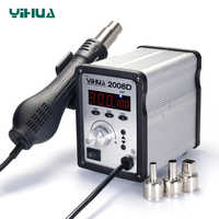 YIHUA 2008D Temperature Adjustable SMD Rework Station , Hot-Air Soldering Station