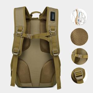Image 2 - Outdoor Tasche Wasserdicht Militärischen Rucksack Frauen männer Wandern Taktische Rucksack 900D Nylon Klettern Tasche Sport Tasche