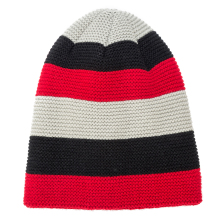 IANLAN 2019 New Striped Winter Hat Cap Men Thickening Fleece Liner Beanie Fashion Knitted Long Earmuffs Caps IL00063