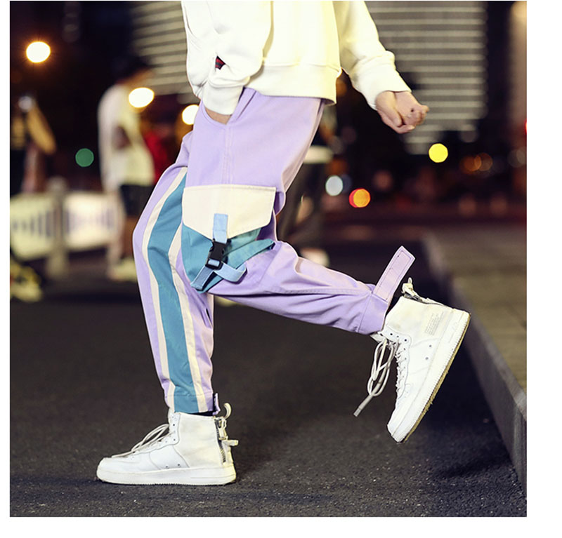 Cool Cargo Pants Men Casual Hip Hop Fashion (14)