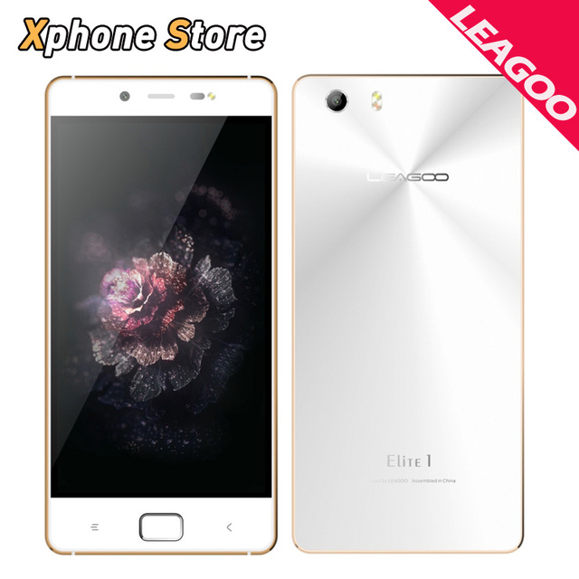 Original LEAGOO Elite 1 4G LTE 5.0 inch Android 6.0 RAM 3GB ROM 32GB Metal Body MTK6753 Octa Core 1.3GHz 16.0MP Mobile Phone
