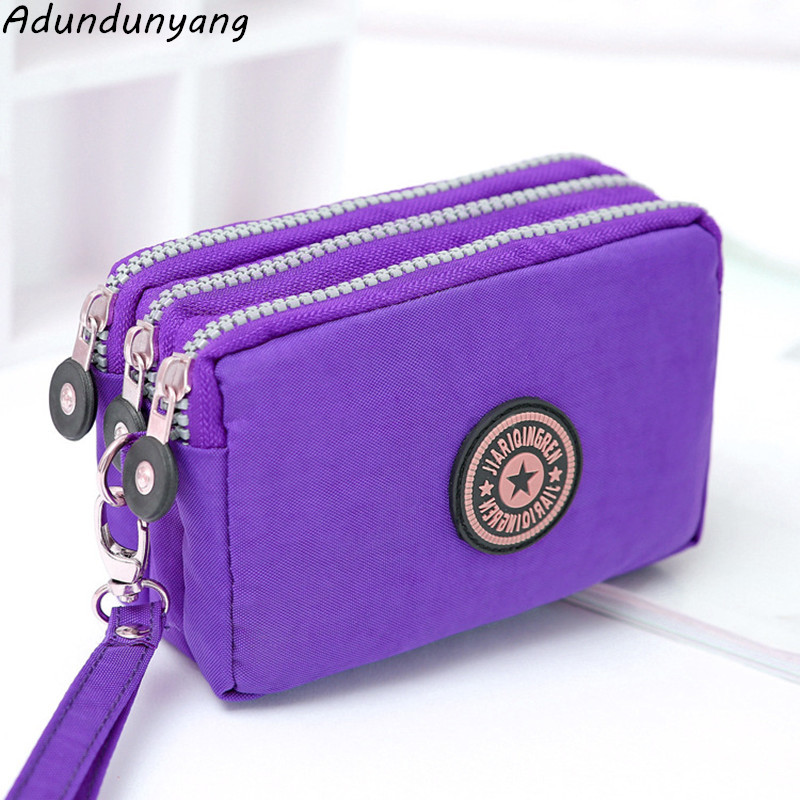 2018 Women Wallet Purse Female Long Wallet Nylon Handbag For Women Coin Purse Card Holders Portefeuille Femme