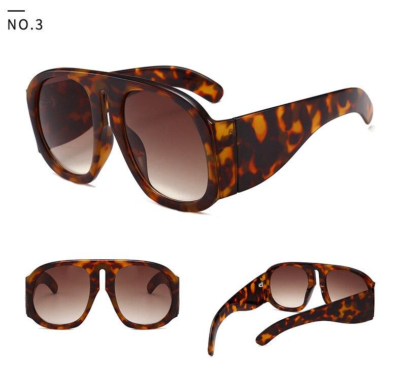 45c26e11ea1 ROYAL GIRL 2018 Vintage Oversized Sunglasses Women Oval Big Frame Leopard  Black Gray Designer Sun Glasses for Women Oculos ss963