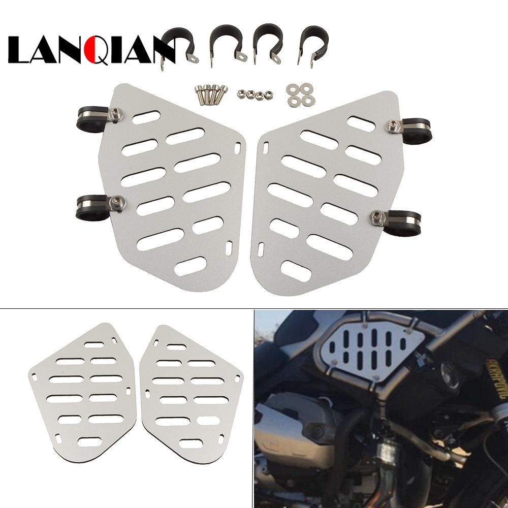 CNC Алюминий сплав мотоциклов Танк щитки защита плиты двигателя для 013 BMW R1200GS Приключения 90 лет ABS 2013 BMW R1200GS