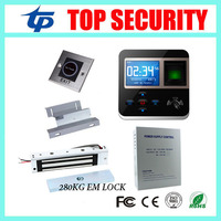 Free Software TCP/IP 3000 Card Capacity Standalone Fingerprint Access Control Door Lock DIY F211 RFID Card Access Control System