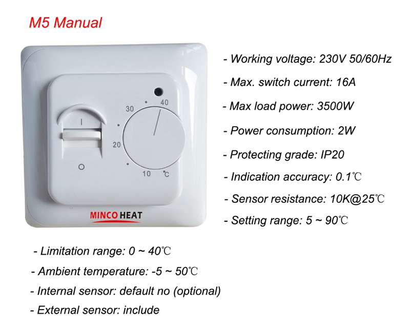 M5 thermostat