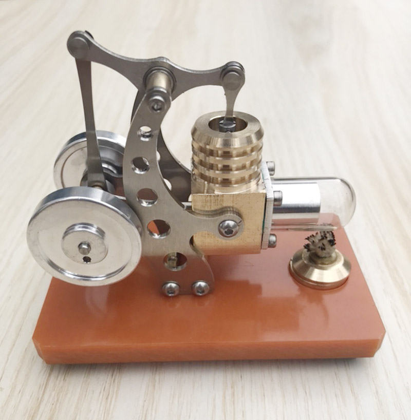 Stirling engine Steam engine engine model Miniature balance science experiment birthday present Brain development toys