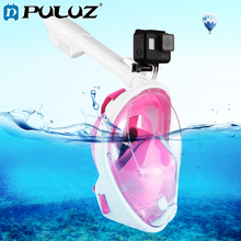 PULUZ Diving Case For GoPro HERO6 240mm Fold Tube Water Sports Equipment Full Dry Snorkel Mask M/S
