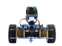 Waveshare AlphaBot robot building kit for Raspberry Pi/Arduino Comes with Camera EU plug power adapter etc