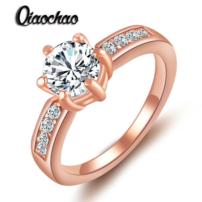 gold colour bohemia ring for lady wedding with water drop pendant special store jewelry r189 - Wedding Ring Stores
