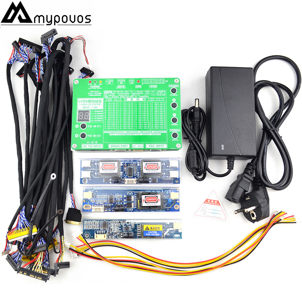 Laptop TV LCD LED Test Tool Panel Tester Support 7 84 Inch LVDS 14 Screen Line