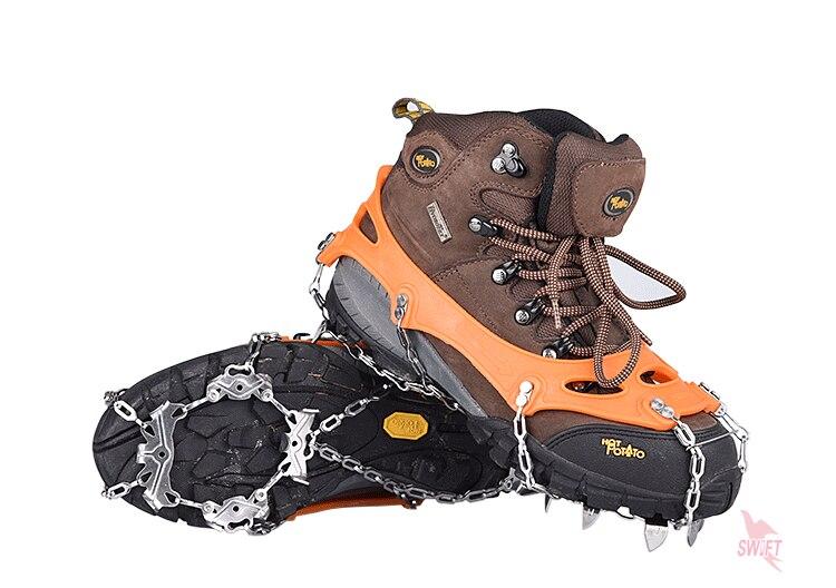 Gripper Neve Caminhadas de Esqui Ao Ar Livre crampons escalada