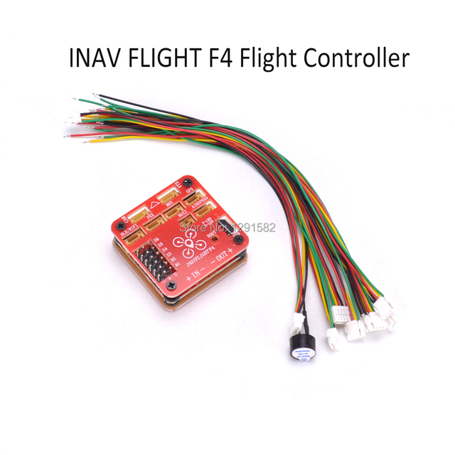 US $26 48 59% OFF|INAV FLIGHT F4 Flight Controller Built in OSD & Battery  Voltage Current Monitor 2 6s For FPV RC Airplane Quadcopter-in Parts &