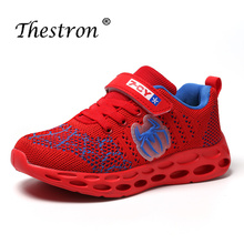 Thestron Running Sneakers For Boys Comfortable Mesh Brand Trainers Summer Children Shoes Girls Sport Boy Shoe