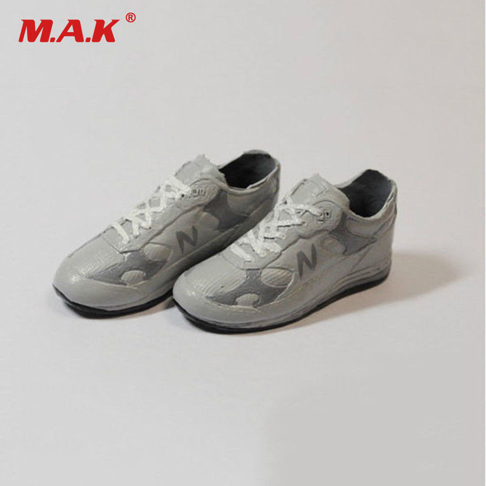 (1pair)Hot Figure Accessory 1/6  S-2 Male Sport Jogging Running Shoes For Cy Girl, ZC, HT,TTL, Hot Toys Gift
