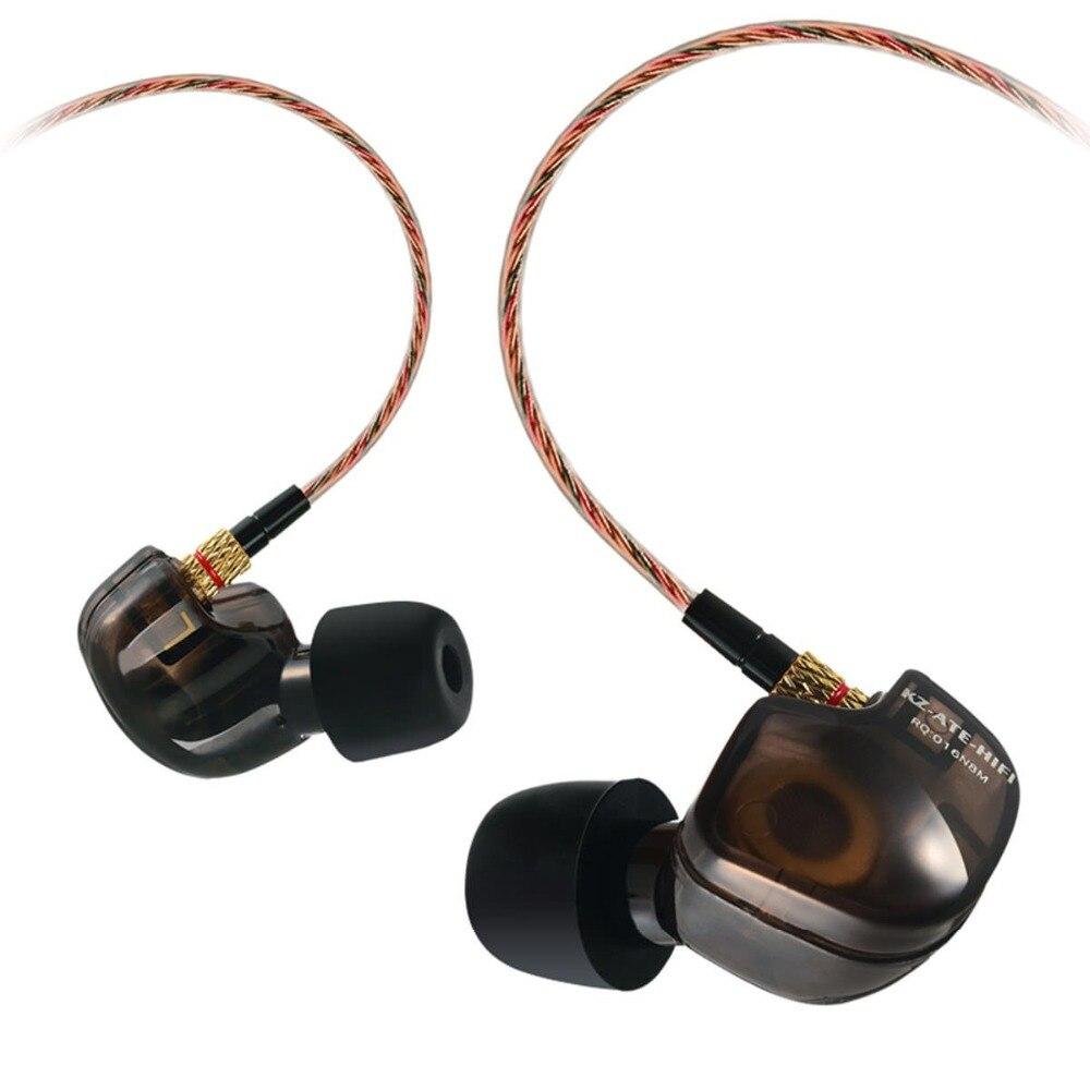KZ ATE ATR Super Bass Earphones 3.5mm Ear Hook Earbuds Professional HIFI Sport Headphones For Running With Microphone
