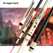 19 STONE Stream Fishing Rod 3.6/3.9m/4.5m4.8m/5.4m/5.7m lake river steam Rod Carbon Fiber Hand Pole