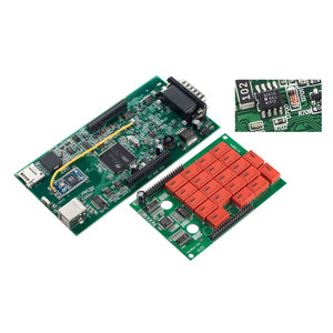 Image 3 - 5pcs/Lot DS CDP TCS 9241A Chip Dual Green Board V3.0 Bluetooth 2016 R0/2017 R1 Keygen OBDII Diagnostic Tool Auto Scanner