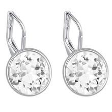 100 Original Crystals From Swarovski Bella Mini Piercing Earrings 2016 Fashion Stud Earrings Party Jewelry Women