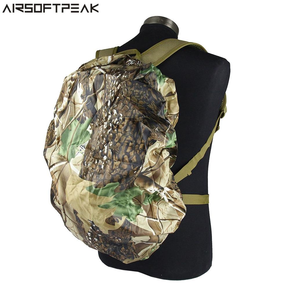 10cff83d1d0 1 st Nylon Camouflage Regenhoes 30-40L Waterdichte Rugzak Tas Stof ...