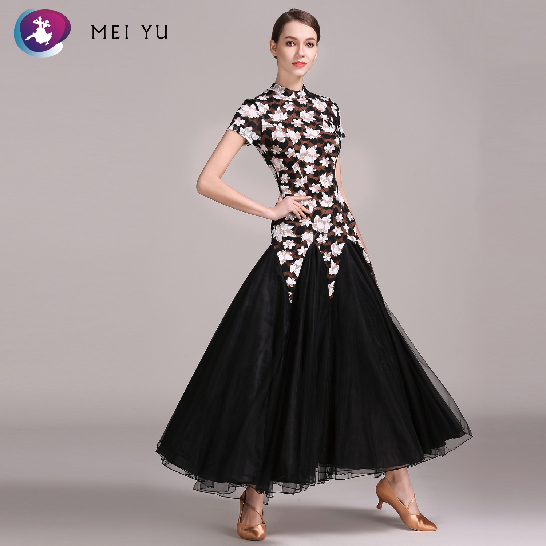Mei Yu 1839 Moderne Dans Kostuum Vrouwen Dames Dancewear Waltzing Tango Dansen Jurk Ballroom Kostuum Avond Party Dress