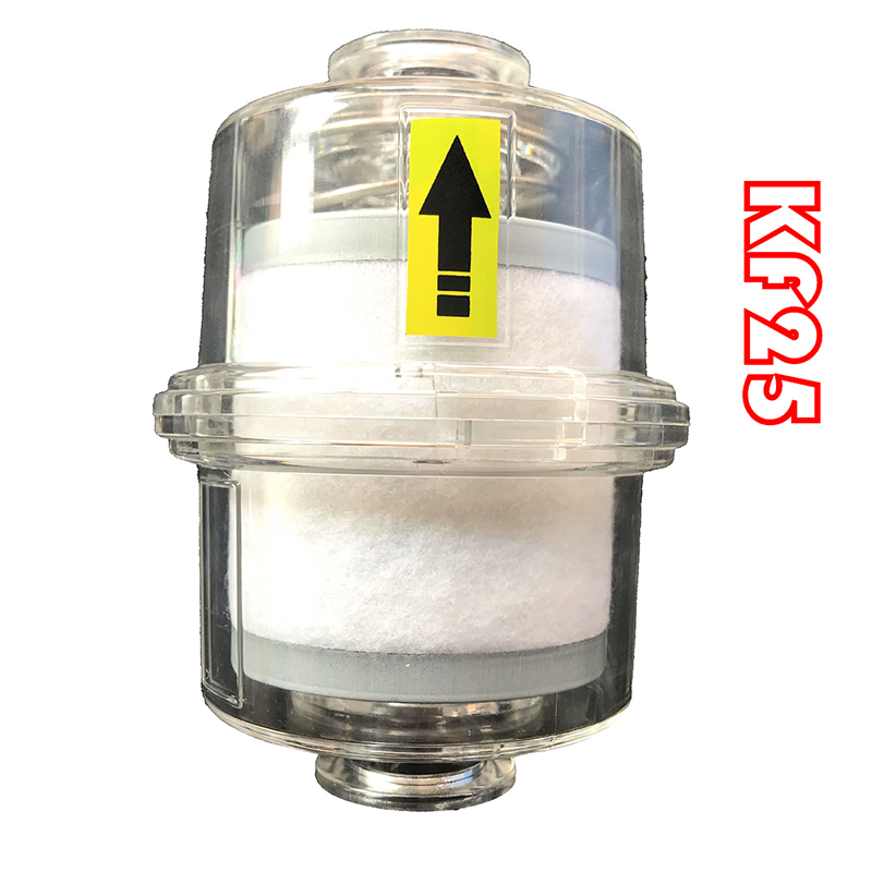 Oil mist filter for vacuum pump Fume separator Exhaust filter KF25/KF40 interface Y цена и фото