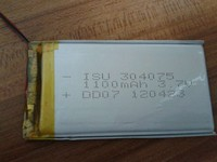 304075 마력. 폴리머 리튬 배터리 5 드릴링 특수 공장 직접 판매, 블루투스, 헤드폰, 기록 펜 리튬 이온