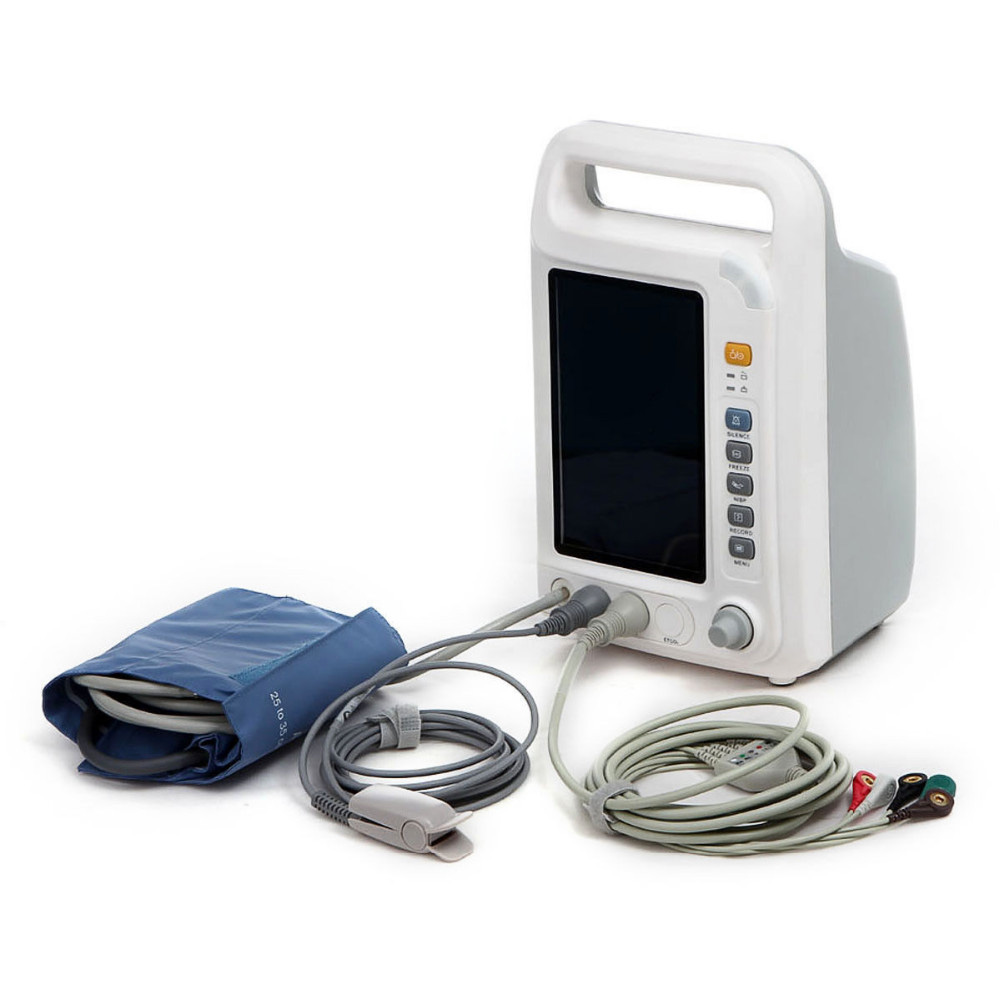 ICU Patient Monitor Multi Parameter Pulse Rate NIBP RESP YK 8000A Health Care Medical Equipment