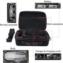 Portable Carrying Box Hardshell Suitcase for DJI Mavic Pro Drone, Charger, Propellers And Accessories Shoulder Waterproof Box все цены