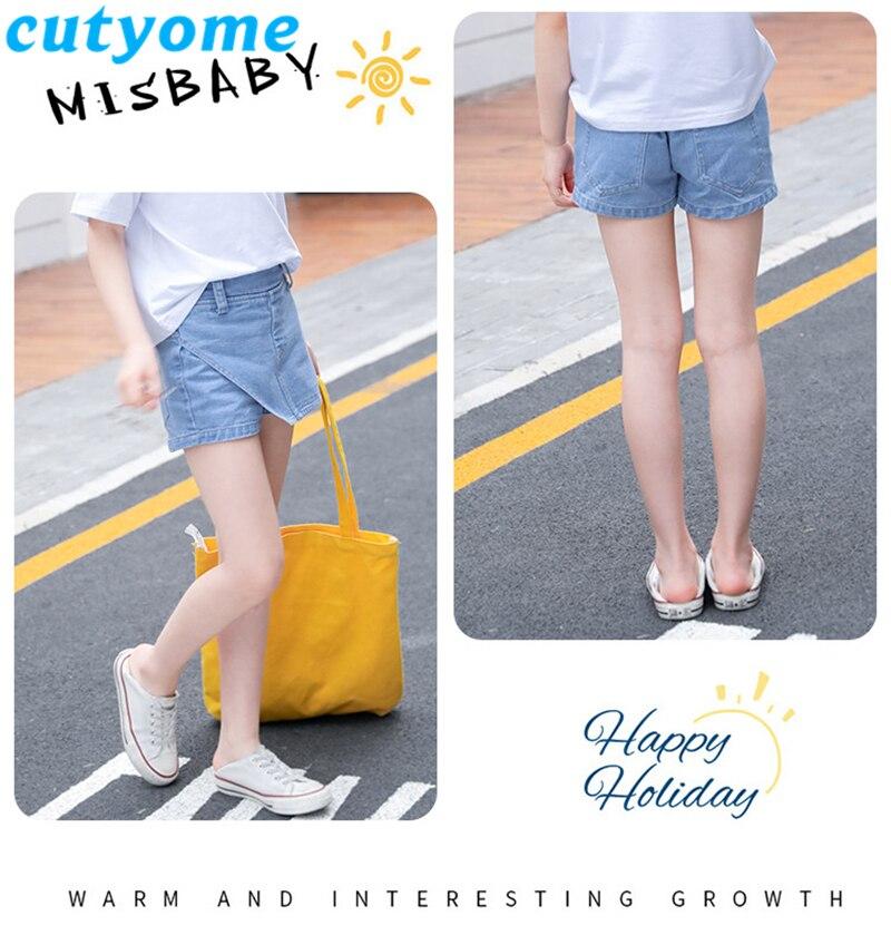 teenage girls faux skirt shorts09