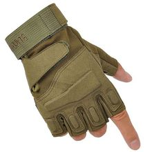 Men Outdoor Short Finger Gloves Sports Army Military Tactical Airsoft Shooting Hunting Outdoor Gloves