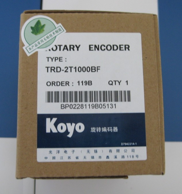Freeship Koyo TRD-2T series Ultra-small incremental rotary encoder TRD-2T1000-BF TRD-2T1000BF Diameter 38mm 1-year warranty цена