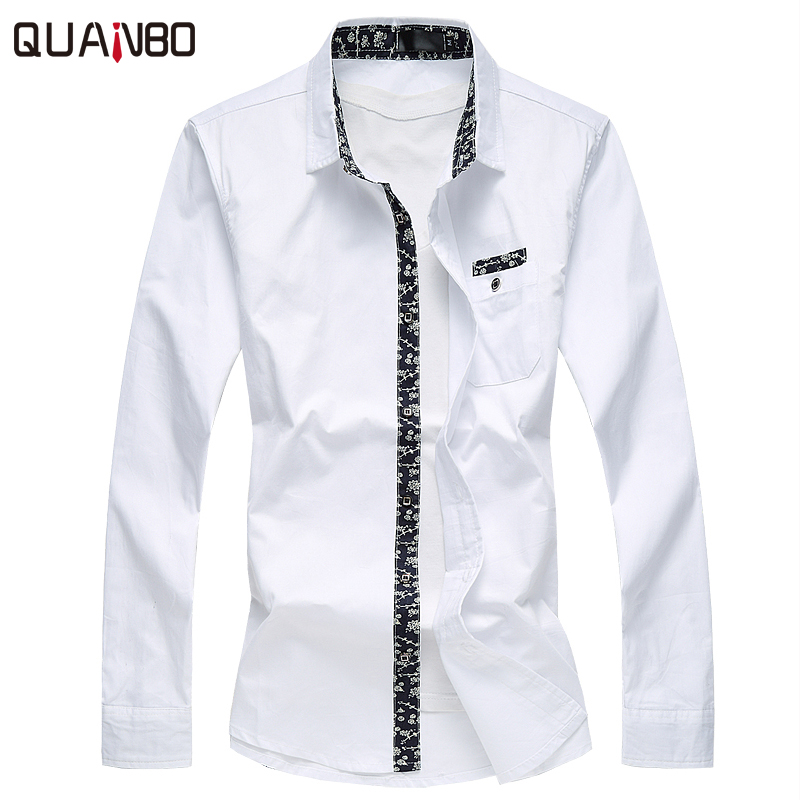 Popular Men Cotton White Shirt-Buy Cheap Men Cotton White Shirt ...
