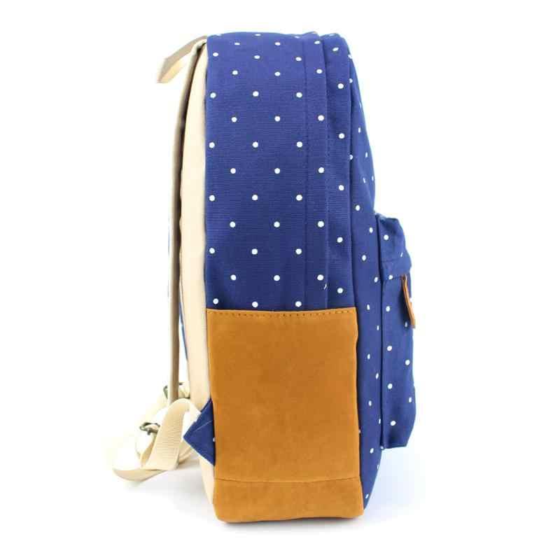 Mulheres Menina bolsa de Ombro Da Lona Mochila de Viagem Mochila Mochila Feminina Mochila Casuais Bolsa Escola Para Meninas Adolescentes Clássico Bagpack