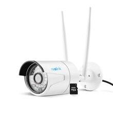 Reolink Ip-камера Wi-Fi Пуля 4MP Встроенный 16 ГБ SD Карты Памяти Беспроводной Открытый Безопасности Пуля Cam RLC-410WS