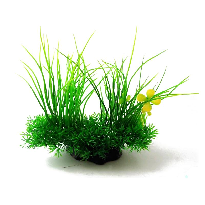Aquarium Decoration Plastic Aquatic plants Ornament Home ...
