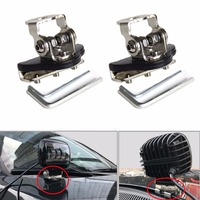 SKTYANTS Universal Mounting Brackets Engine Cover Bonnet Stainless Steel For JEEP Car Auto Offroad Excavator Truck