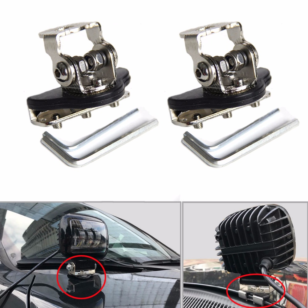 SKTYANTS Universal Mounting Brackets Engine Cover Bonnet Stainless Steel for JEEP Car Auto Offroad Excavator Truck Sedan Saloon ned 10pcs 20x20mm practical stainless steel corner brackets joint fastening right angle thickened brackets for furniture home