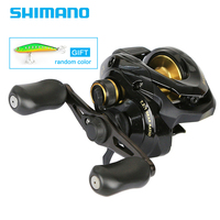 Shimano Original BASS ONE XT 150 151 Right Left Baitcasting Fishing Reel 7.2:1 4+1BB 210g 5.0kg SVS Syetem Fishing Reel