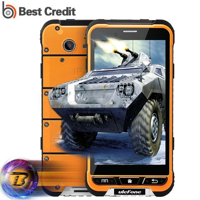 Global Network Ulefone Armor Mobile Phone MTK6753 Octa Core Android 6.0 4G LTE 3G+32G 13MP 3500mAh Glonass GPS IP68 Waterproof