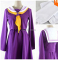 New Free Shipping The Game Of Life No Game No Life Cosplay Costume Nogemu Noraifu Shiro Kawaii Girls Uniform Sailor Dress